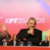 Lula na comemoração dos 35 anos do PT