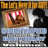Countrified Birthday Personalized Birthday Song Shout Out