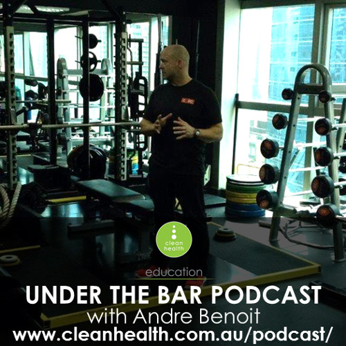 Andre Benoit - Special guest on episode 11 of Under The Bar Podcast