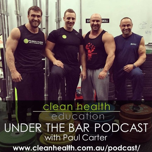 Paul Carter - Special guest on Episode 8 of Under The Bar Podcast