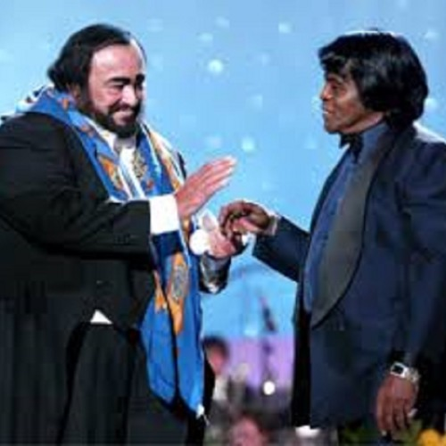 It's A Man's World HD Luciano Pavarotti & James Brown