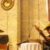 Persembahan dari  Risky Hauteas menggunakan alat musik sasando