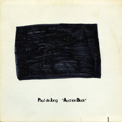 Paul de Jong – Auction Block