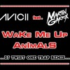 Avicii feat. Martin Garrix - Wake me up Animals (DJ Twist One Trap Remix)