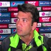Sohaib Maqsood talks to media after 1st warm-up match in Sydney