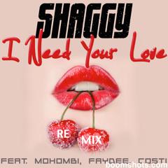 "Shaggy ""I Need Your Love"" (Remix)"