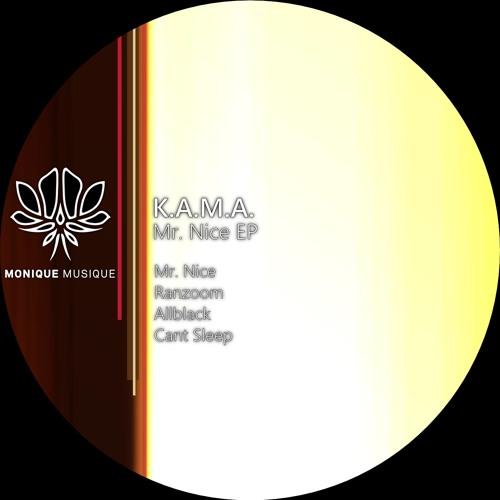K.A.M.A. - Cant Sleep (Original Mix)