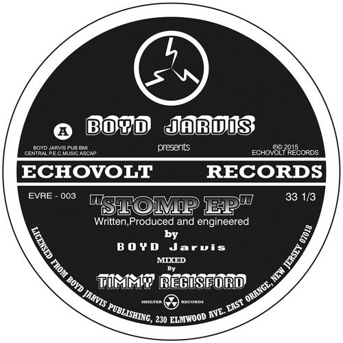 BOYD JARVIS - Stomp E.P. (teaser)