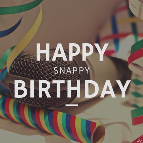 Happy Snappy Birthday