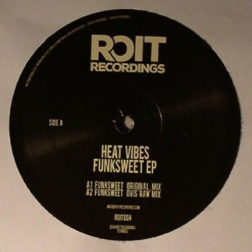 Heat Vibes - Funksweet EP, Remixes by Ovis & Jacob B [ROIT004]