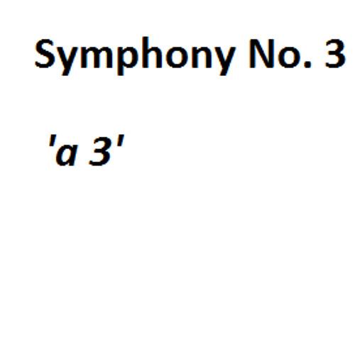 Symphony No. 3 'a3' (2014/15)