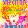 She on fire with them colors at 2015 with coffe break beats