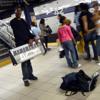 [Field recording-New York] Subway Artist at 42nd St. Track2 (rec.2009)