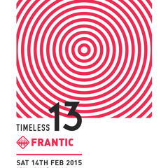 Wain Johnstone B2B Caz Wood Classics set @ Frantic, Timeless 2015