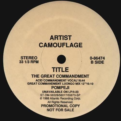 0872ca7ab9 The Great Commandment Acid Commandment Mix by justin strauss