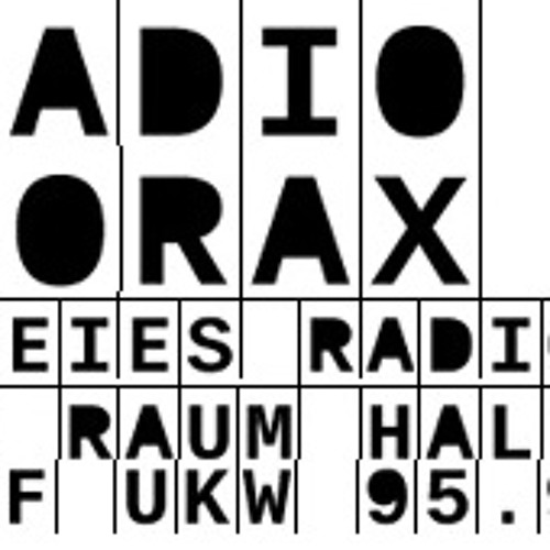 Viertelpoet beim Rocktrabant - bei Radio Corax - 11.04.2013