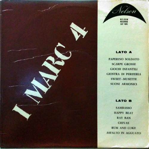 I MARC 4 - GLP 1005 - 1970 Lounge JAZZ BEAT & breaks KILLER ITALIAN LIBRARY!