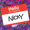My Name is NickY