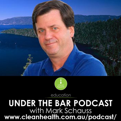 Dr Mark Schauss - Special Guest on episode 13 of Under The Bar Podcast