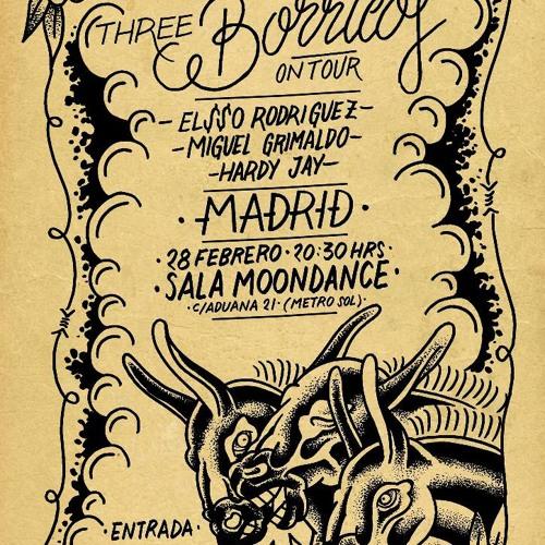 Elsso Rodriguez, Miguel Grimaldo & Hardy Jay - Three Borricos RMX