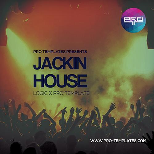 Jackin House Logic Pro X Template