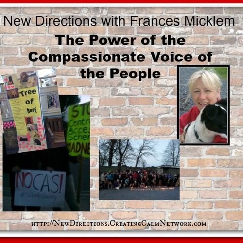 New Directions with Frances Micklem - The Power of the Compassionate Voice of the People