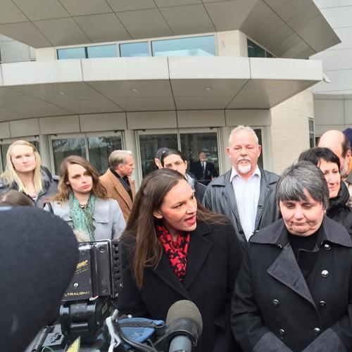 ACLU Nebraska Press Conference (post same-sex hearing; Feb. 19, 2015)