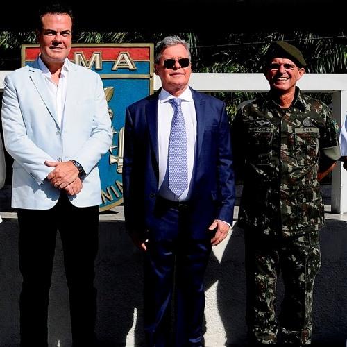 Baixar Arthur Neto fala sobre parceria com o Exército Brasileiro durante homenagem #FalaPrefeito59