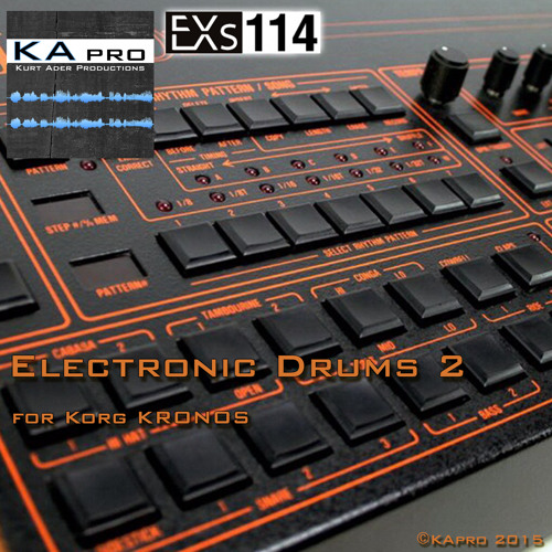 EXs114 Electronic Drums 2