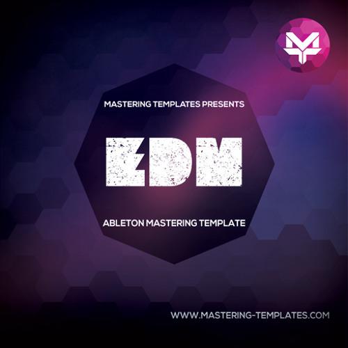 Ableton EDM Mastering Template Mastered