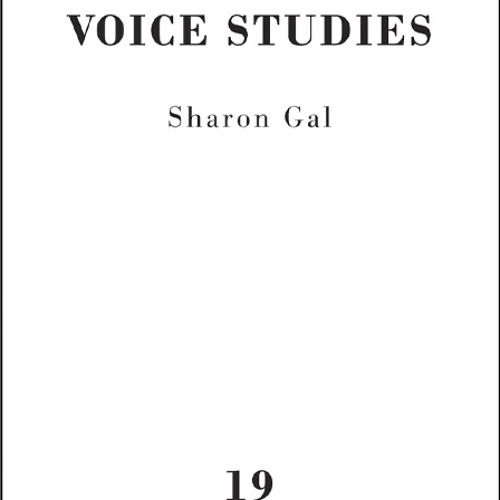 Sharon Gal Voice Studies 19 This Side