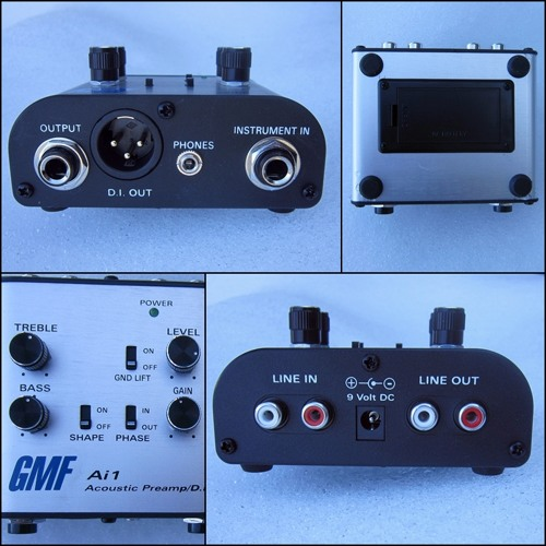 Billy Voight: GMF Ai1 Acoustic Pre-Amp/DI