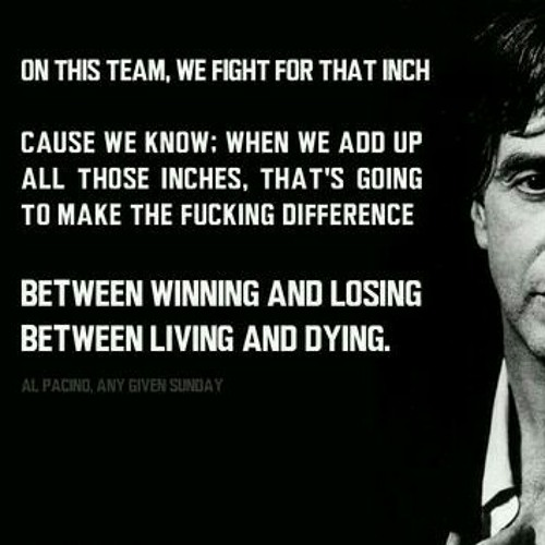 Al Pacino Any Given Sunday Speech At Awesome Speech To