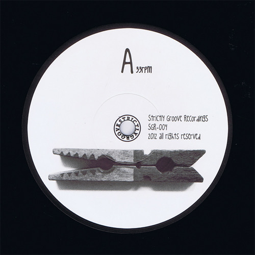 """[SGR-004] Things Happen feat. Alice - Red Crocodile (12"""", 33rpm)"""