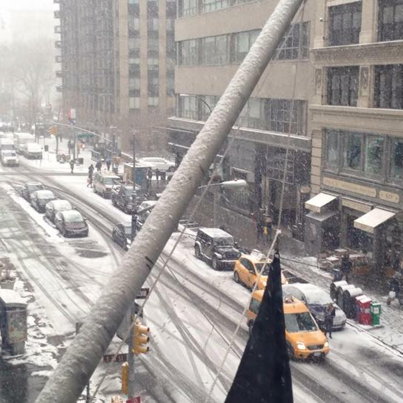 [JorgeCast ptBR - S1E53] NYC com Neve e o pensamento de que é feito para dar certo