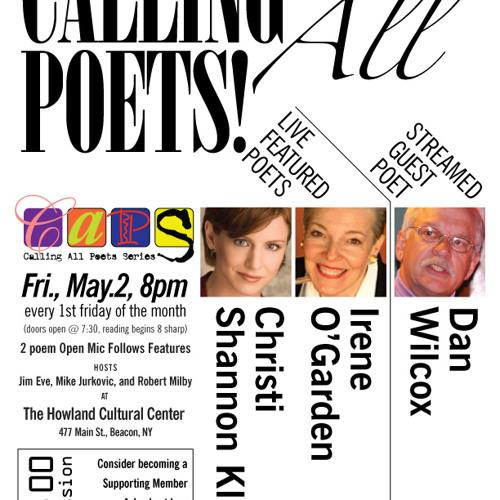 CapsCast, V3#2  Christi Shannon Kline & Irene O'Garden  5/2/14