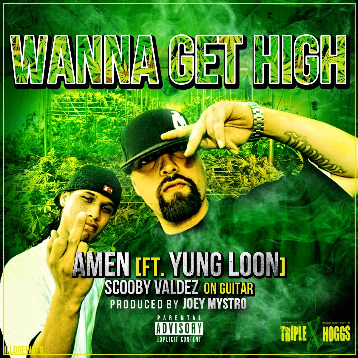Amen ft. Yung Loon - Wanna Get High (Produced by Joey Mystro) [Thizzler.com]
