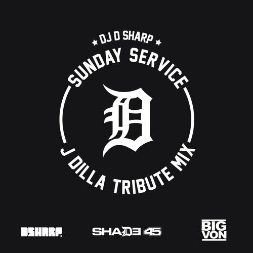 J Dilla Tribute Mix on Sunday Service (Shade 45)