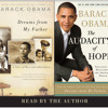 Dreams From My Father; The Audacity of Hope by Barack Obama, read by Barack Obama