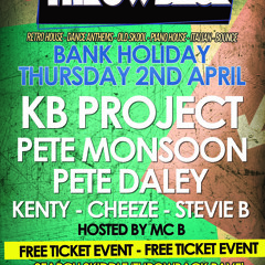 Throwback V5 - Mixed By Pete Monsoon (Easter Thursday FREE Rave Promo Mix)