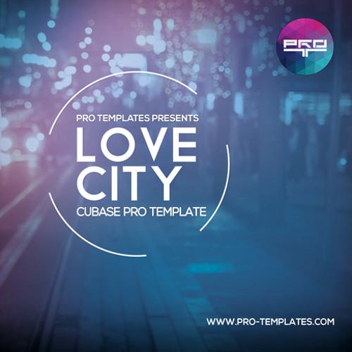 Love City Cubase Pro Template
