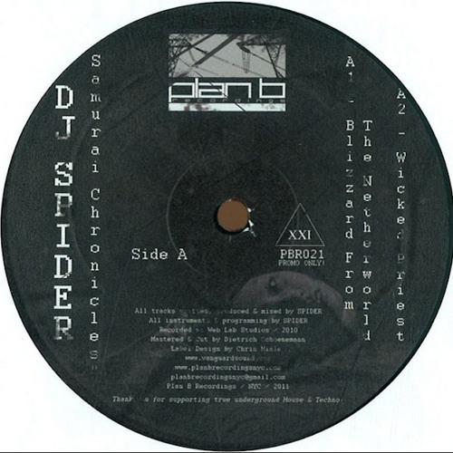 """4 Tracks from """"Samurai Chronicles EP"""" - DJ Spider (PBR021 12"""" Vinyl)"""