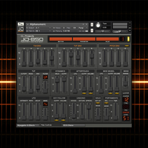 CL-Projects - First Glimpse (JD-850 Demo)