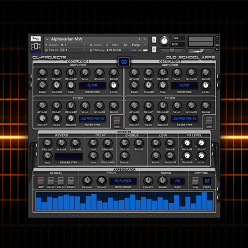 CL-Projects - OSA Arpeggios Patch Demos