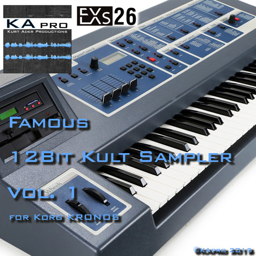 EXs26 Famous 12Bit Kult Sampler Vol. 1