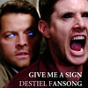 Give Me A Sign {SPN/Destiel Fansong} Take Me To Church Parody