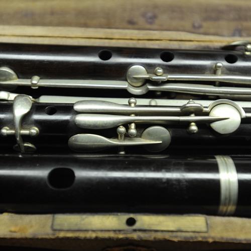 Nach Meyer 11-key flute Adagio(II)from Erholungen by Wilhelm Klingenbrunner (Vienna)