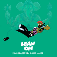 Major Lazer & DJ Snake Lean On (Ft. MØ) Artwork