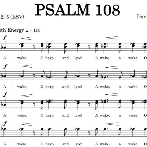 PSALM 108 (SATB) - Concordia A Cappella Choir