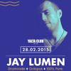 Jay Lumen Live At Yalta Club Sofia Bulgaria 28-02-2015
